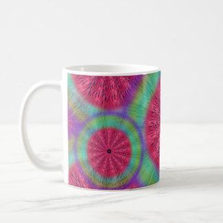 風変りな日光のスイカの曼荼羅のマグ コーヒーマグカップ