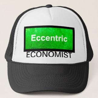 風変りな経済学者の帽子 キャップ