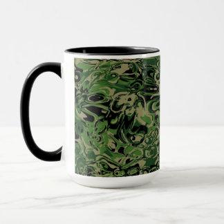 風変りな緑 マグカップ