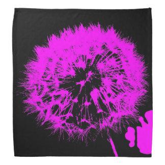 風変りな芸術-ピンクの(c)タンポポ バンダナ