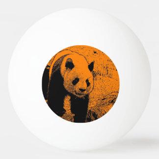 風変りな芸術- (c)パンダのオレンジ 卓球ボール