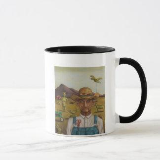 """風変りな農家、""""風変りな農家""""による… マグカップ"""