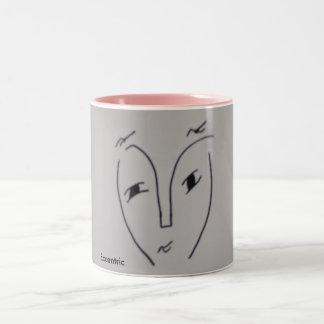 風変り ツートーンマグカップ