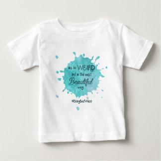 風変わりしかしhashtag 3と美しい ベビーTシャツ