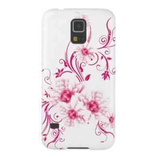 風変わりなピンクによってはSamsungの箱が開花します Galaxy S5 ケース