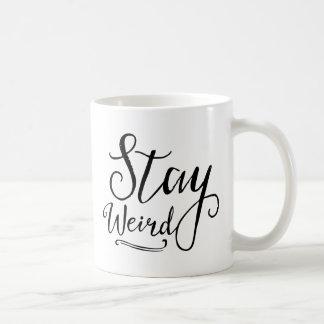 風変わりな滞在 コーヒーマグカップ