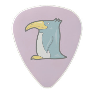 風変わりな漫画のペンギンのポリカーボネートのギターピック ポリカーボネイト ギターピック