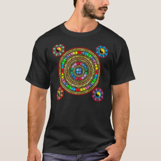 風水の円 Tシャツ