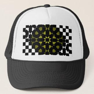 風水-デザイナー新しいオリーブ色の黒い及び白 キャップ
