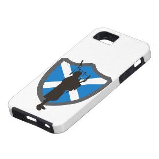 風笛吹奏者の盾の携帯電話の箱 iPhone SE/5/5s ケース