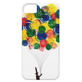 風船売り iPhone 5 ベアリーゼアケース