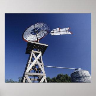 風見鶏および水漕、サン・アントニオ、テキサス州、 ポスター