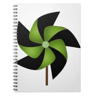 風車のおもちゃ ノートブック