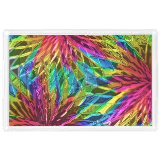 風車のガラス芸術1 アクリルトレー