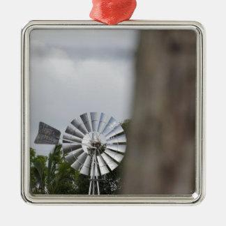 風車のサザンクロス田園オーストラリア メタルオーナメント