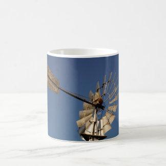 風車のサザンクロス田園クイーンズランドASUTRALIA コーヒーマグカップ
