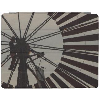 風車のシルエットのIPadオーストラリアのカバー iPadスマートカバー