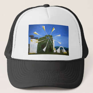 風車の帽子の純真な絵画 キャップ