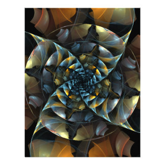 風車の抽象美術レターヘッド レターヘッド