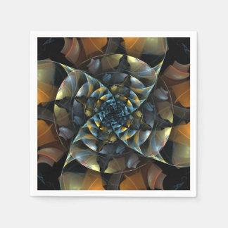 風車の抽象美術 スタンダードカクテルナプキン