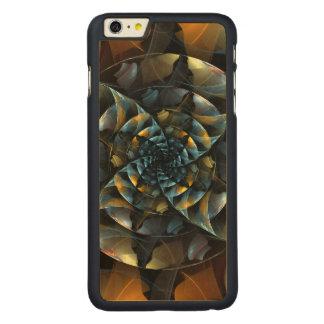 風車の抽象美術 CarvedメープルiPhone 6 PLUS スリムケース
