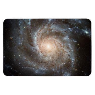 風車の銀河系のハッブルの望遠鏡の宇宙の写真 マグネット