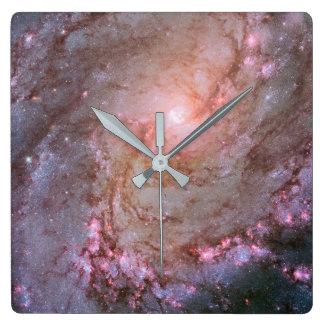 風車の銀河系|の柱時計 スクエア壁時計