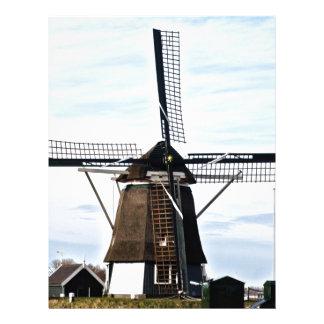 風車オランダ レターヘッド