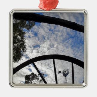 風車クイーンズランドオーストラリア メタルオーナメント