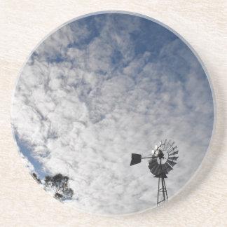 風車及び曇り空クイーンズランドオーストラリア コースター