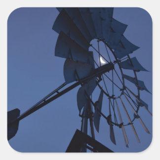風車及び月田園クイーンズランドオーストラリア スクエアシール