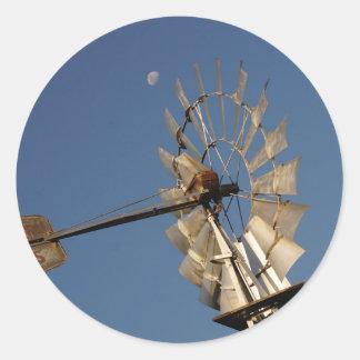 風車及び月田園クイーンズランドオーストラリア ラウンドシール