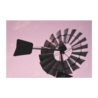風車金星ジュピター田園クイーンズランドオーストラリア キャンバスプリント