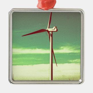 風車 メタルオーナメント