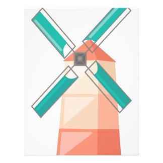 風車 レターヘッド