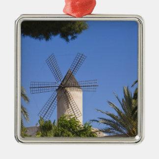 風車、Palma、Mallorca、スペイン メタルオーナメント