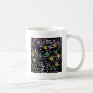 風雲ニャンコ城 怒り編 コーヒーマグカップ