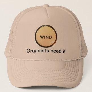 風-オルガン奏者の必要性それ帽子 キャップ