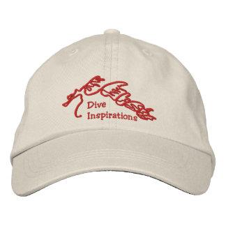飛び込みのインスピレーションの海のドラゴンのロゴの帽子 刺繍入りキャップ