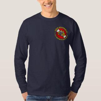 飛び込みのオーストラリア(rd)のシュモクザメの服装 tシャツ
