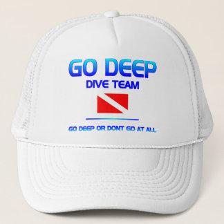 飛び込みのチーム帽子 キャップ