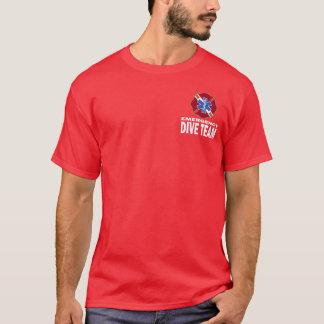 飛び込みのチーム Tシャツ