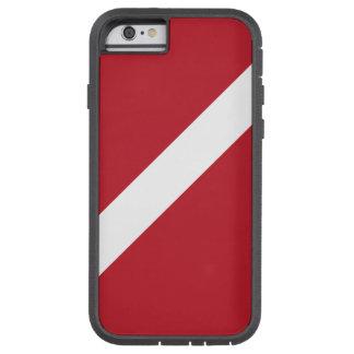 飛び込みの旗の電話箱 TOUGH XTREME iPhone 6 ケース