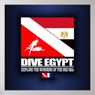 飛び込みエジプト ポスター