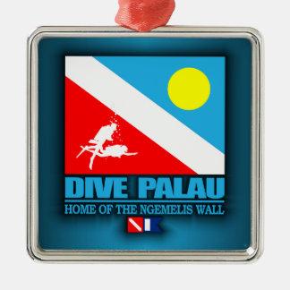 飛び込みパラオ諸島 メタルオーナメント