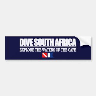 飛び込み南アフリカ共和国 バンパーステッカー