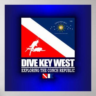 飛び込みKey West ポスター