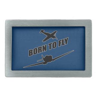 飛ぶために生まれて下さい 長方形ベルトバックル