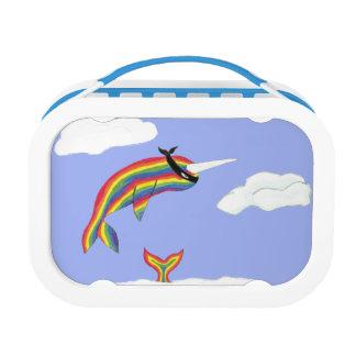 飛ぶ虹の忍者Narwhal ランチボックス