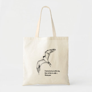 飛ぶ鳥のスケッチ トートバッグ